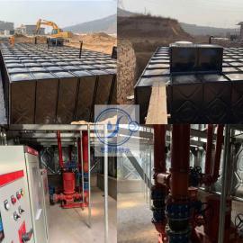 图纸型号HBP-612-54/144-15/50-I-HDXBF地埋式箱泵一体化BDF水箱