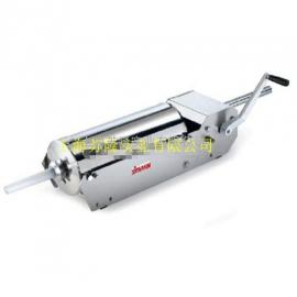 意大利SIRMAN舒文牌横式手动灌香肠机IS 16X筒容量16L