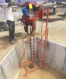 新型桩芯取土专用钻孔机
