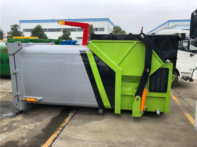 10立方12立方 移动式垃圾压缩设备
