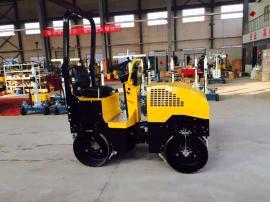 浩鸿全液压驾驶型双钢轮压路机 回填土沥青压实机械更高效