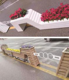 市政园林花箱制作景观花筒定做