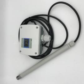 艾凡风速仪管道式风速变送器接线W410D1