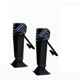 优质房车支撑设置 半挂车支腿配件 挂车马腿