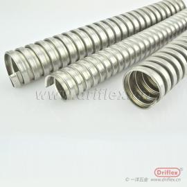 不锈钢电线导管 防腐蚀单扣钢带制成 金属穿线管 线缆保护