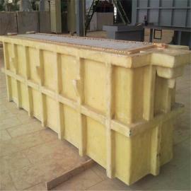 玻璃钢电解槽 酸洗槽 玻璃钢废液洗涤槽 腾润环保