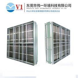 中央空调风柜式空气净化器工作原理