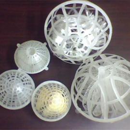 多孔悬浮球填料 球形填料 悬浮填料使用寿命长