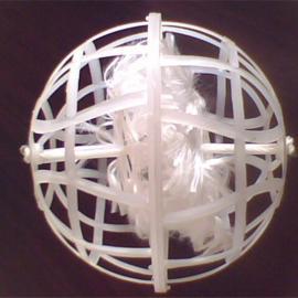 多孔生物悬浮球填料,多孔生物悬浮球填料规格