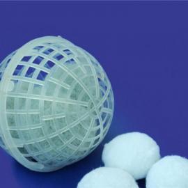 厌氧池悬浮球填料,聚氨酯悬浮球填料,悬浮球填料填充密度