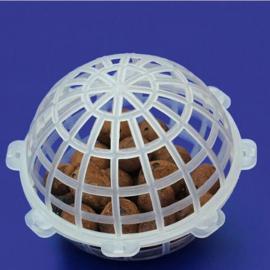 多孔悬浮球填料 污水处理 生物膜法处理技术