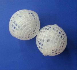 悬浮球填料、球形填料、多孔悬浮球、悬浮球填料