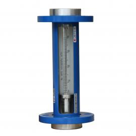 F10-25F0内衬四氟玻璃转子流量计 测量盐酸硫酸流量计