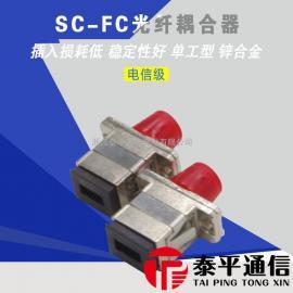 FC-SC光纤适配器,SC转FC光纤转换器,FC-SC光纤转接头