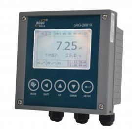 4-20mA和Mod bus RTU输出在线PH计/PH/T分析仪