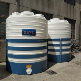 瑞辉10吨pe储罐 防腐蚀 耐酸碱 中铁合作商10立方水箱 复配罐