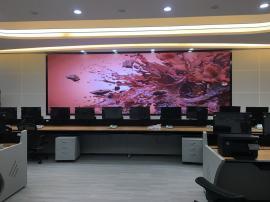 会议室超大电子屏造价 P1.6小间距LED全彩屏幕报价