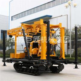 履带钻机XYD-200水井钻机 液压钻塔高支腿钻井效率高