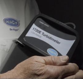 哈希二次供水余氯浊度PH监测系统