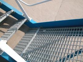 恺嵘麻花钢钢格板 玻璃钢钢格板 镀锌插接钢格板现货