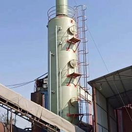 玻璃钢锅炉脱硫塔砖厂脱硫塔