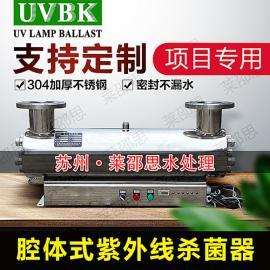 UVBK饮用水紫外线jing水yi 消毒器 过流式紫外线杀菌器