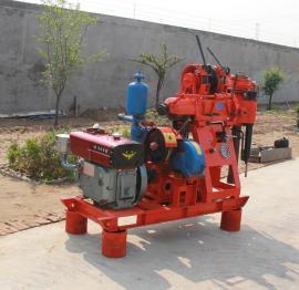 全液压XY-150型履带式水井钻机