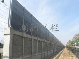 直立型声屏障 直立型隔音墙 组合透明型声屏障现货