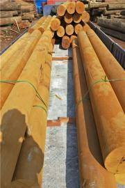 印尼菠萝格圆柱加工 印尼菠萝格板材定制加工