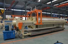 污水厂污水处理过滤压滤机,厢式隔膜压滤机