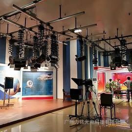 力铭光电实景和虚拟演播室灯光设计方案