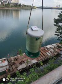 控源截污一体化预制泵站,自控液压闸门
