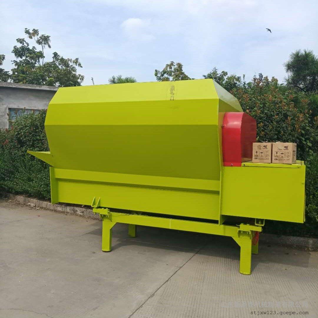 圣泰饲草TMR全自动混料机 9方日粮搅拌机图片TMR-9