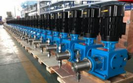 不锈钢柱塞式计量泵 高精度加药泵 耐腐蚀耐酸碱泵