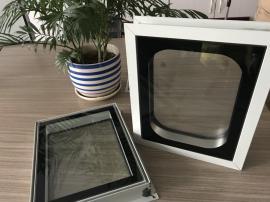 洁净室无菌不锈钢层流传递窗