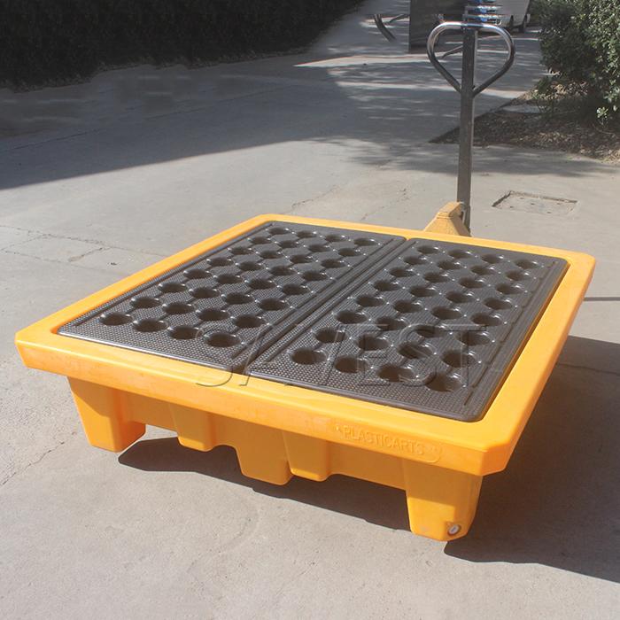 SAVEST增强型四桶盛漏托盘防渗漏托盘聚乙烯四桶托盘