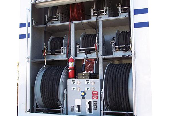 定制非标卷盘 定制特种卷管器 订制特殊电缆卷盘 大口径消防卷盘