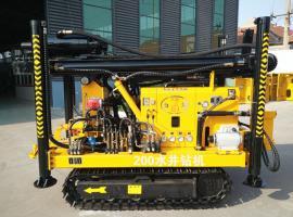深水井钻机200米300米 全液压履带式水井钻机