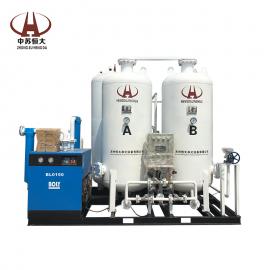 恒大品牌HDFO90-100碳钢制氧机设备 制氧机维护 养鱼制氧机