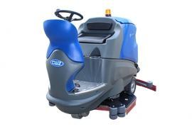 威卓大型驾驶式洗地机X9 车站停车场用大型地面清洗机