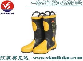 GA6-2004消防员灭火防护靴、CCCF消防胶靴
