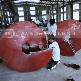 选矿用水力螺旋溜槽,铅砂矿赤铁矿精选溜槽
