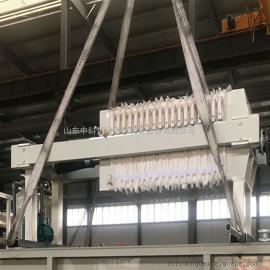 油墨废水处理设备就选中科贝特板框压滤机 处理清水排放