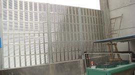 化工厂声屏障 噪声防护屏 楼顶隔音屏障板 商场楼顶隔音降噪
