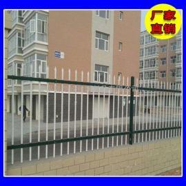 【锌钢护栏】学校小区围墙铁艺围栏 场地厂区锌钢栅栏定制
