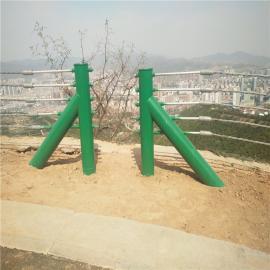 缆瑞钢丝绳防撞护栏景区公路钢缆索护栏工厂GC-A-7E