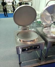京明华YCD45A-K电饼铛 双温双控自动恒温烙饼机220V 铁铝复合锅