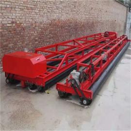三滚轴路面摊铺机 混凝土桥面铺装机长度可选