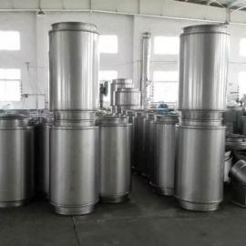 蓝旭不锈钢烟囱制售营销中心双层不锈钢烟囱制作安装单位