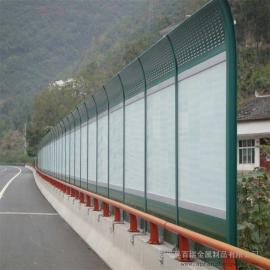 高速隔音屏障-高速公路隔音声屏障-降zao隔声屏障-圆孔声屏障